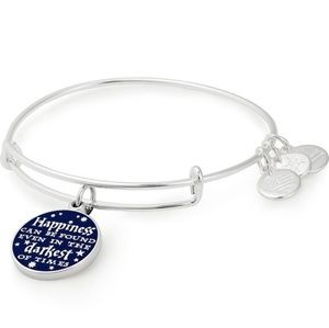 Alex and Ani Harry Potter Happiness Quote Bracelet